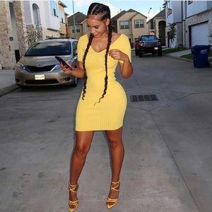 Hot Miami Styles Black Mini Dress